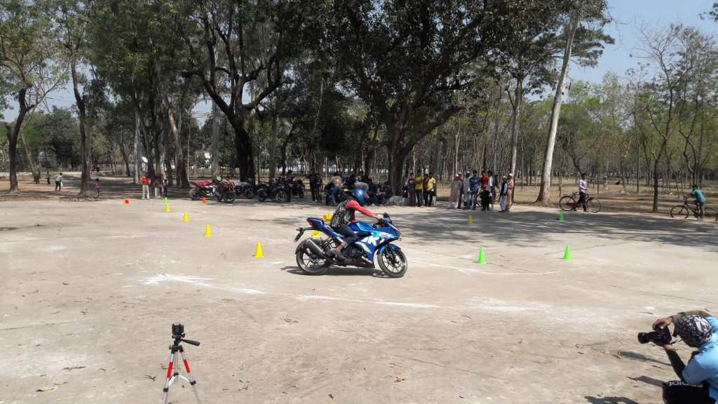 Gymkhana Ride at Rangpur