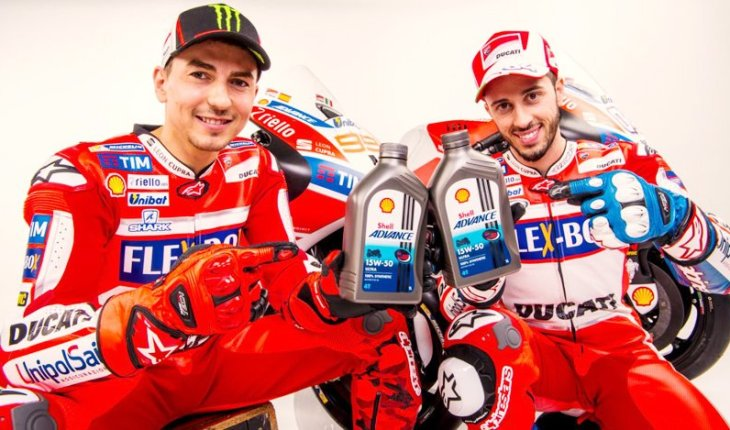 Shell And Ducati Partnership