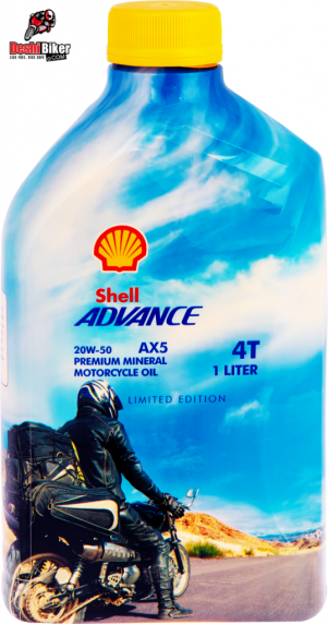 Shell Advance AX5 20W-50 Limited Edition