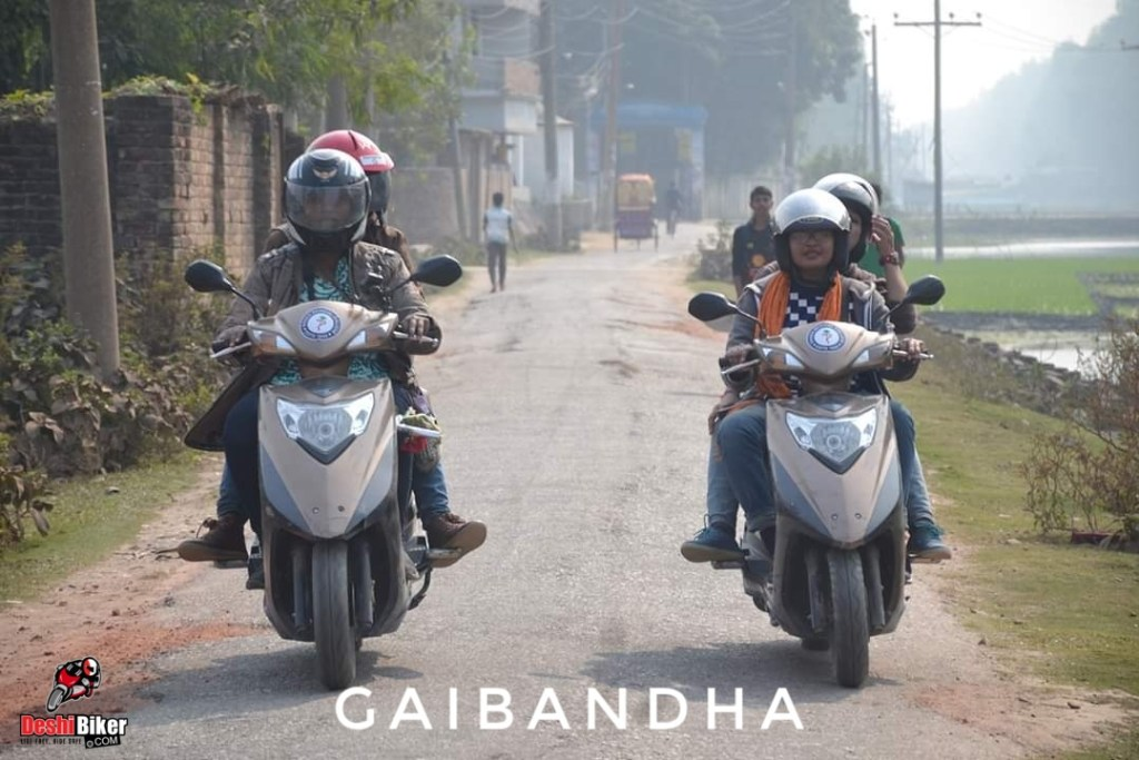 Two womer rider of Bangladesh