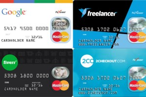 Payoneer Master Card Sample