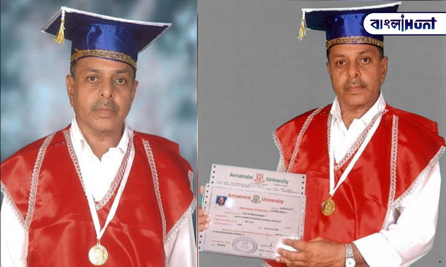 bhanubhai patel obtained 31 degrees from jail in 8 year