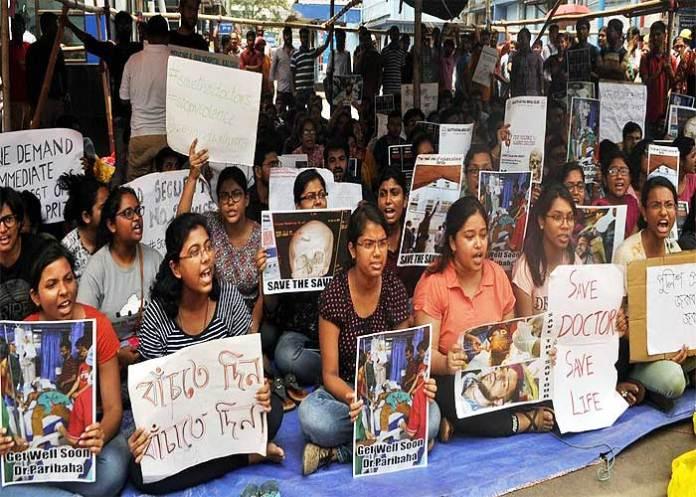 doctors on strike West Bengal