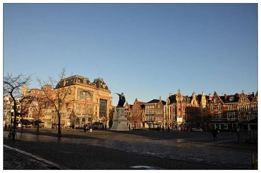 Friday Market Square Ghent