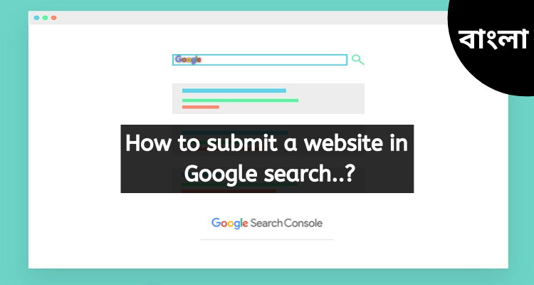 submit website in google search