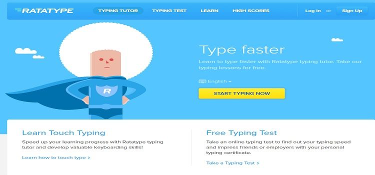 ratatype new typing tool for beginners