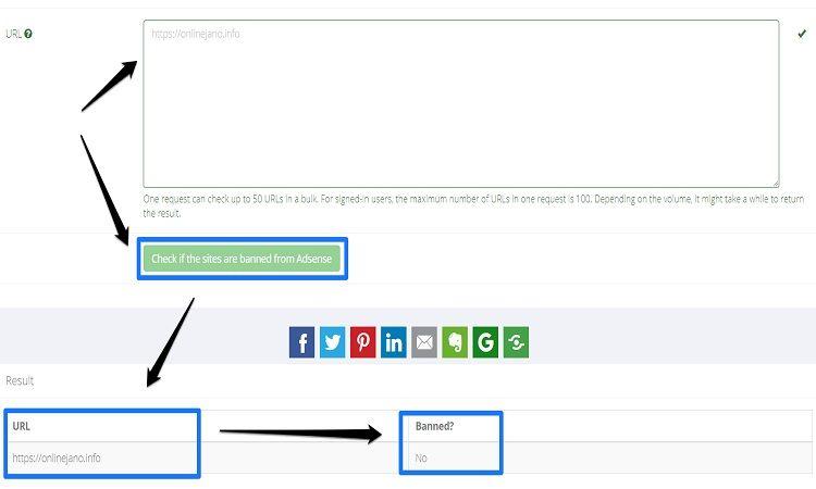 Check AdSense banned status