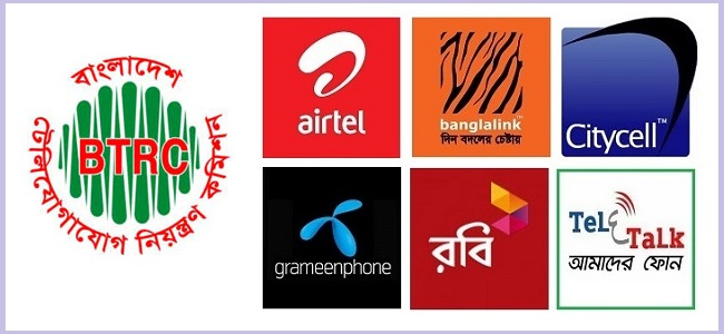 Bangladesh-Mobile-Operators and BTRC