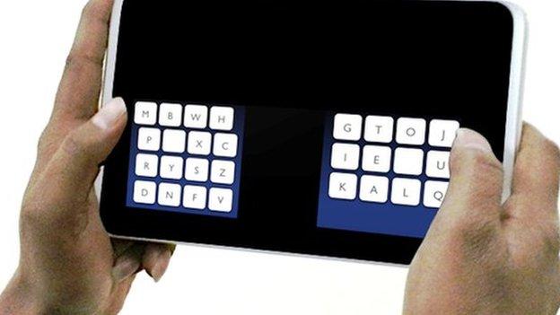 thumb type