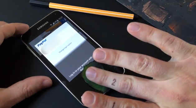 galaxy s5 fingerprint hacked