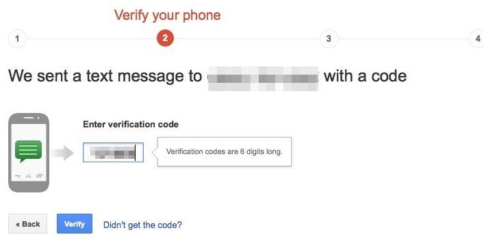 2 step verify gmail 3
