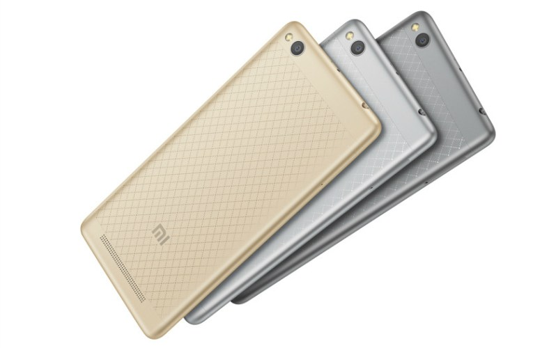 xiaomi Redmi 3 back