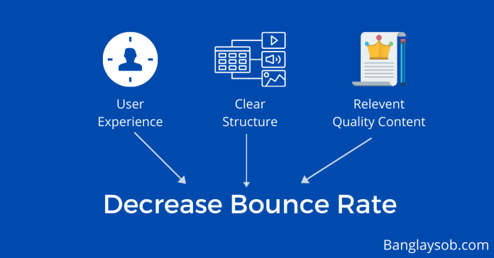 Dcrease bounce rate