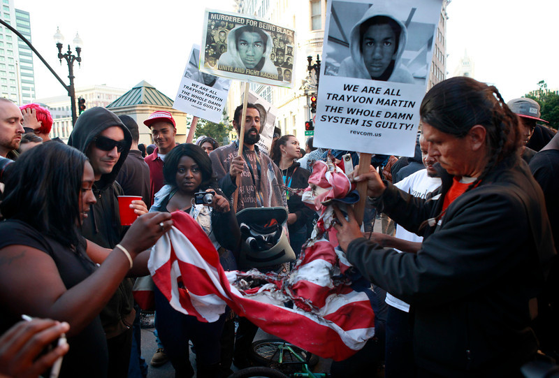 Justice for Trayvon Rallies in Oakland