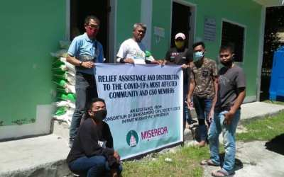 More than three hundred CSOs and Community members Received Relief Assistance