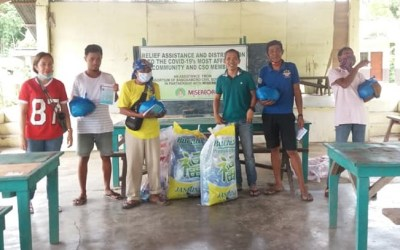 FAR-FLUNG AND VULNERABLE NETWORK MEMBERS AND COMMUNITIES  RECEIVED ASSISTANCE