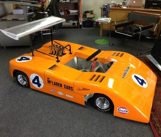 This Half Scale Mclaren Can Am Car Is Absolutely Genius And For Sale On