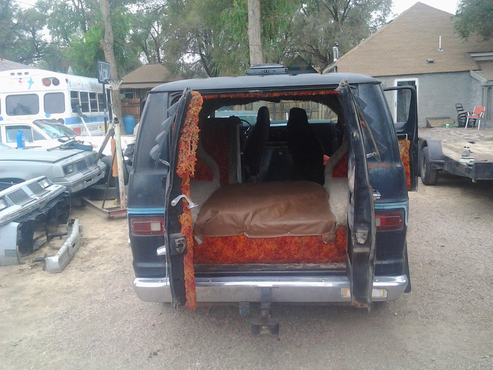 1974 Chevy Van Interior