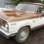 Bangshift Com The Other Dodge Diesel Get Close Up With A Diesel Powered 1978 Dodge D200 Bangshift Com
