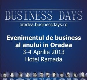 S-au deschis inscrierile la Oradea Business Days