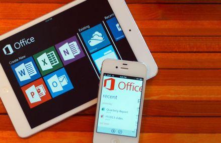 Microsoft Office gratuit pe dispozitivele mobile