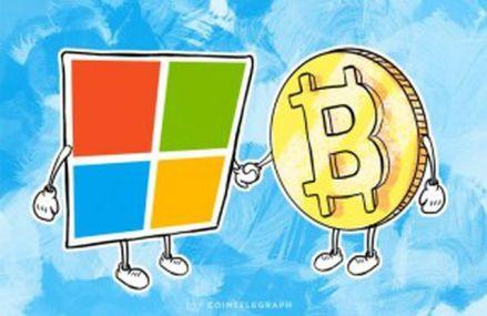 Microsoft este oficial cea mai mare companie din lume care permite platile in Bitcoin