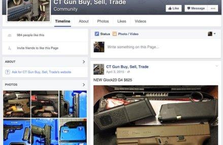 Facebook interzice mesajele care vizeaza vanzarea armelor