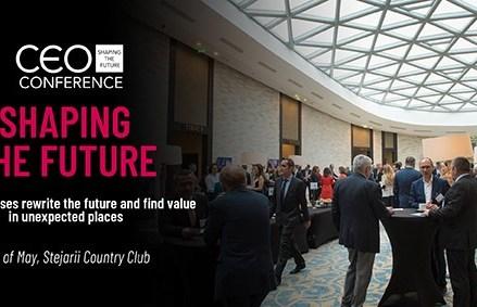 CEO Conference – Shaping the Future  Evenimentul anual de referinta al mediului de afaceri din Romania se desfasoara marti, 22 mai 2018, in Bucuresti