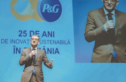 Loic Tassel, preşedintele P&G Europa, un business de 17 mld. dolari: Avem aşteptări mari pentru România. Am bugetat ca ritmul de creştere al businessului să fie de două ori mai rapid decât cel din Europa