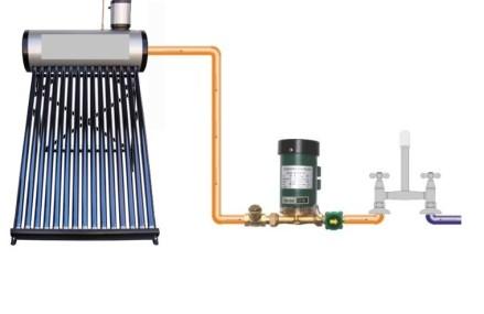 Incalzirea apei calde menajere cu panouri solare de la Shop Einstal, pentru eficienta sporita