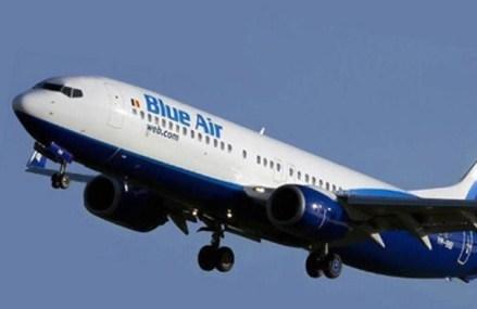 Blue Air reia zborurile regulate din România spre Marea Britanie, Spania, Italia şi Belgia, precum şi cursele interne din Italia