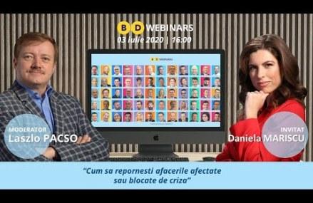 BD WEBINAR cu Daniela Mariscu