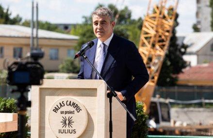 Iulian Dascălu pregăteşte o investiţie de 120 mil. euro la Iaşi – demarează construcţia Palas Campus