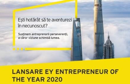 Urmareşte lansarea EY Entrepreneur Of The Year™ 2020 miercuri, 8 iulie, în direct pe zf.ro şi pe pagina de Facebook a ZF si EY România