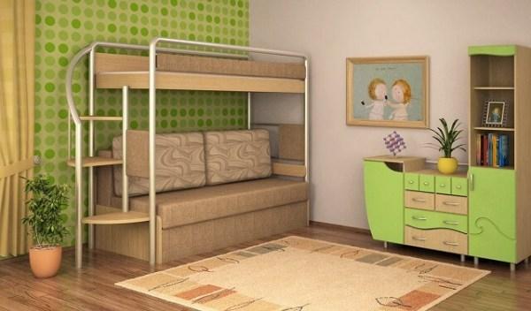 Двухъярусная кровать для детей: виды и как сделать своими ...