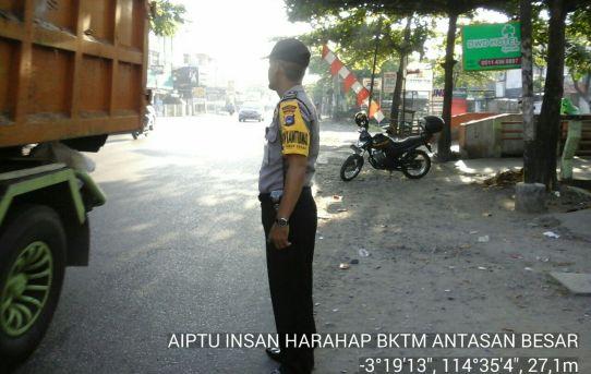 Bhabinkamtibmas Aiptu Insan Harahaf Ploting Pagi Di Simpang 3 Kini Balu