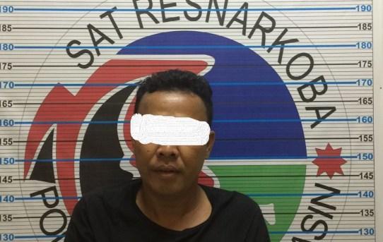Ungkap Kasus : Tujuh Paket Sabu Berhasil Diamankan Satuan Resnarkoba Polresta Banjarmasin