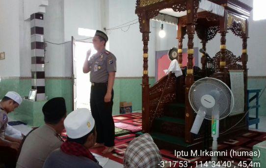 Kapolresta Banjarmasin Ajak Warga Bersama - sama Dalam Menjaga Keamanan Kota Banjarmasin