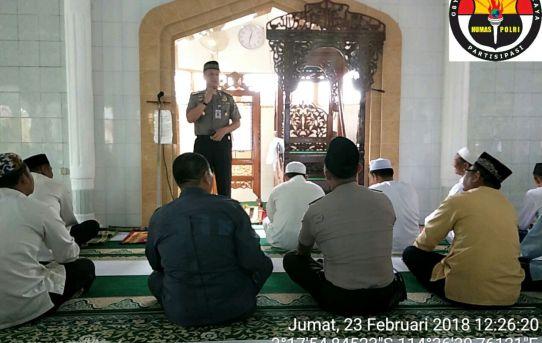 Jalin Tali Silaturahmi Tiga Pilar Ini Lakukan Ibadah Jum'at Keliling