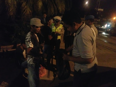 Patroli Cipkon Personel Polsek KPL Banjarmasin