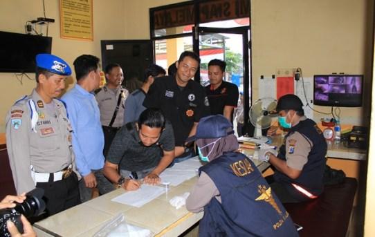 Sipropam Polresta Banjarmasin Gelar Gaktiblin di Mapolsek Banjarmasin Barat