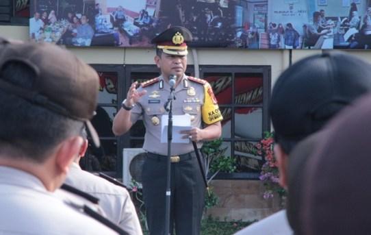 Kapolresta Banjarmasin Pimpin Pergelaran Upacara Peringatan Hari Kesadaran Nasional