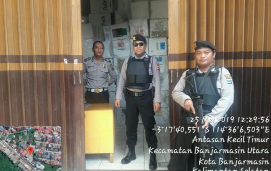 Satuan Sabhara Polresta Banjarmasin gelar Patroli Besar - Besaran 25 Mei 2019