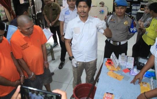 Musnahkan 67 Paket Sabu, Satnarkoba Polresta Banjarmasin Selamatkan 439 Jiwa