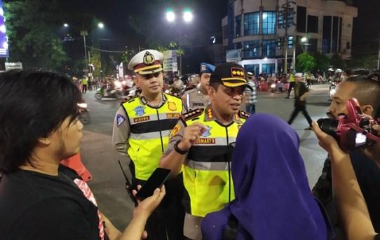 Pengamanan Malam Takbiran 2019 di Kota Banjarmasin