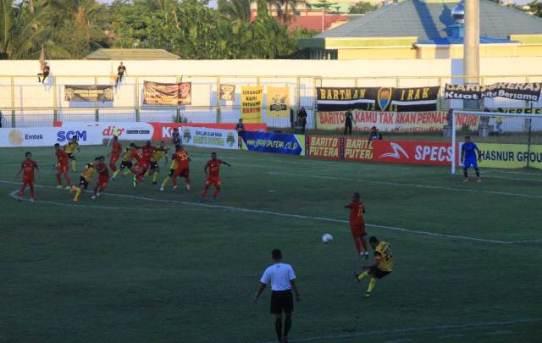 Pengamanan pertandingan Shopee Liga 1 - 2019 antara BARITO PUTERA VS KALTENG PUTRA