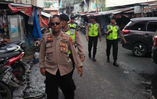Polresta Banjarmasin Intensifkan Patroli Di Tempat Perbelanjaan Menjelang Hari raya Idul Fitri