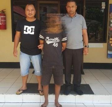 Pelaku Penusukan Ayah Tiri Dibekuk di Rumah Mertua