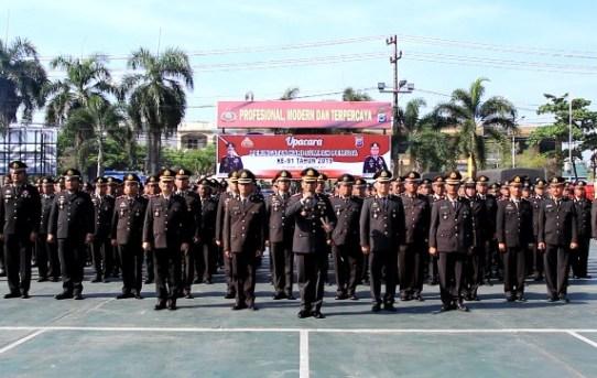 Polresta Banjarmasin Gelar Upacara dalam Rangka Hari Sumpah Pemuda ke 91