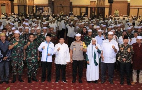 Jelang Pelantikan Presiden dan Wakil Presiden, Polresta Banjarmasin Gelar Doa Bersama.